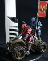 Halo Traitor Lamp by SoundwaveLover