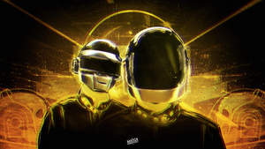 Daft Punk Wallpaper by ManiaGraphic