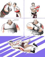 why Heavy and Medic do not fight by yang
