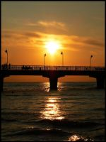Sunset at the Pier... by FERONAS