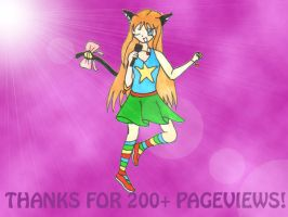Wewt 200 pageviews by Mewmango