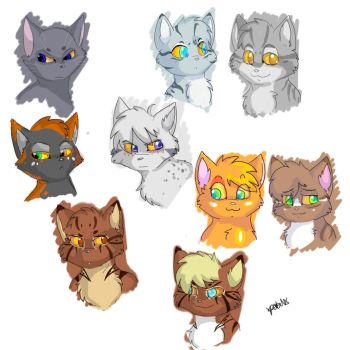 New Prophecy Doodles by xPetalstormx