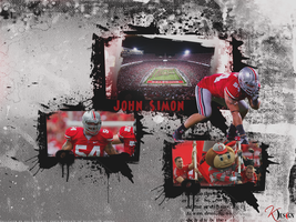 John Simon Wallpaper by KevinsGraphics
