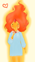 Flame Princess by Pooku-chan