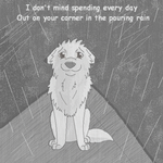 She will be loved- with rain animation by Celtic-Flame