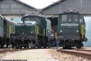 SBB Ce 6-8 III and Ae 4-7 by SwissTrain