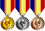 Caesar Medals by 1Wyrmshadow1