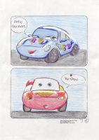 Cars comic by Dolltwins