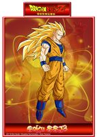 Goku SSJ 3 by CHangopepe