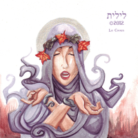 Witchy Watercolor by lilith-darkmoon