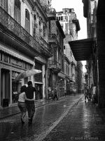 Raining in La Havana by eDamak