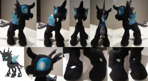 changeling plush by mylittlezombie