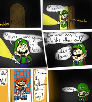 Luigi's Mansion-House: The Prequel by The-PaperNES-Guy