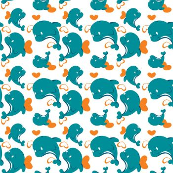 Miami Dolphin Cheerleader Pattern by Projectnewt