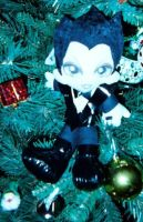My Klaus Nomi Plush in the X-Mas Tree by DreamRevolution