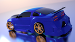 Ford Mustang Back by abdoubouam