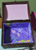 Chloe's Tinkerbell Jewelry Box- 2 of 2 Views by disturbeddragon