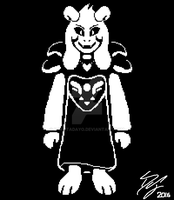 UNDERTALE: Asriel Re-Imagined by DakotaDAYO
