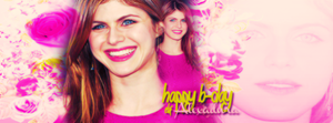 Happy B-Day Alexandra by onedirectionelif