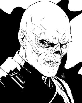 Red Skull - I See Red by LRitchieInk