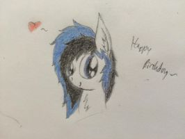 Birthday Present for Kaboderp by ProfessionalPuppy