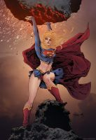 Supergirl by sjsegovia Colors - Doug Garbark by DougGarbark
