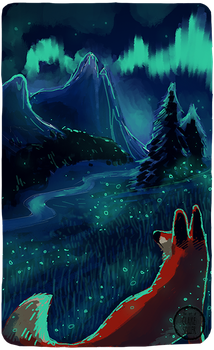 Speedpaint 03 - Vulpine Lights by athelo
