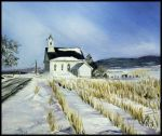 James' Snowy Church by Buble