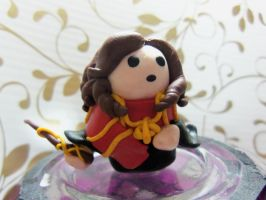 Polymer clay Hermione by Morrigan22