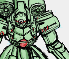 [=] The Green Mech [=] by Endless-warr