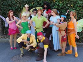 Tinkerbell - Peter Pan Group by MysteriousMaemi