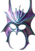 Purple Dragon Mask by Citarra