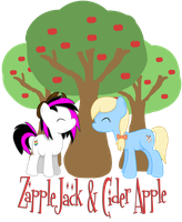 .:CM:. ZappleJack and Cider Apple by eclipsesongs