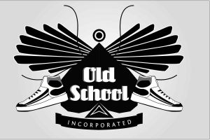 Old School logo by Viswaj