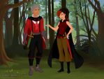Hunters In The Forest #2 by mekeila13