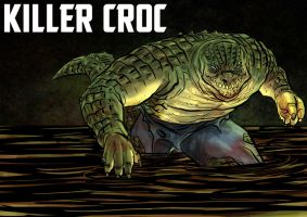 DDF2013 - Day 11: Killer Croc by BloodySamoan