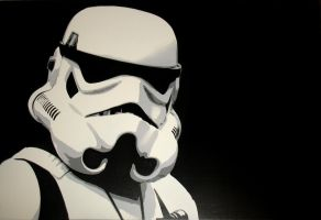 Stormtrooper by Bliink-art