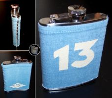 Vault 13 water flask, remade by Ash-crow