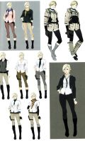 Sherry RE6 Extra Costumes 3 by Sparrow-Leon