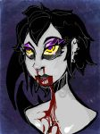 Demon Nose Bleeds by RainbowChesh