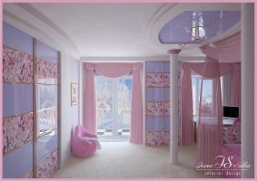 Room for girl. View 3 by irina-silka