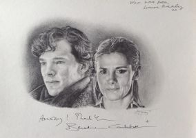 Sherlock and Molly by Amy221B