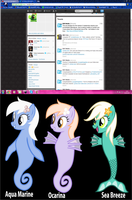 Leaked seaponies for season four by Vector-Brony