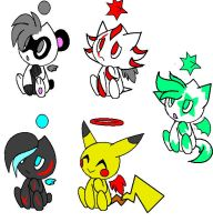 ::closed:: Chao Adopts 3 by Sonicgirlify
