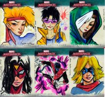 Sketch Cards by Julianlytle