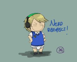 Pewdiepie - Nerd respect! by ChibiLOL