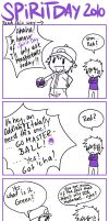 Lame PKMN Comic 5 - Spirit Day by lowlaury