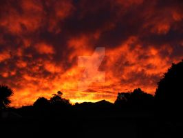 A Burnt West Australian Sky 1 by shhhhh-art