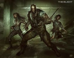 The Blight-Infected Mutant LvL 3 by mlappas