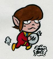 Alex Kidd by sketchxj